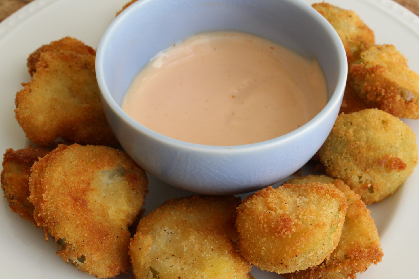 Fried Green Tomatillos And Spicy Cumin Dipping Sauce Recipe - Recipes Hispanic Food