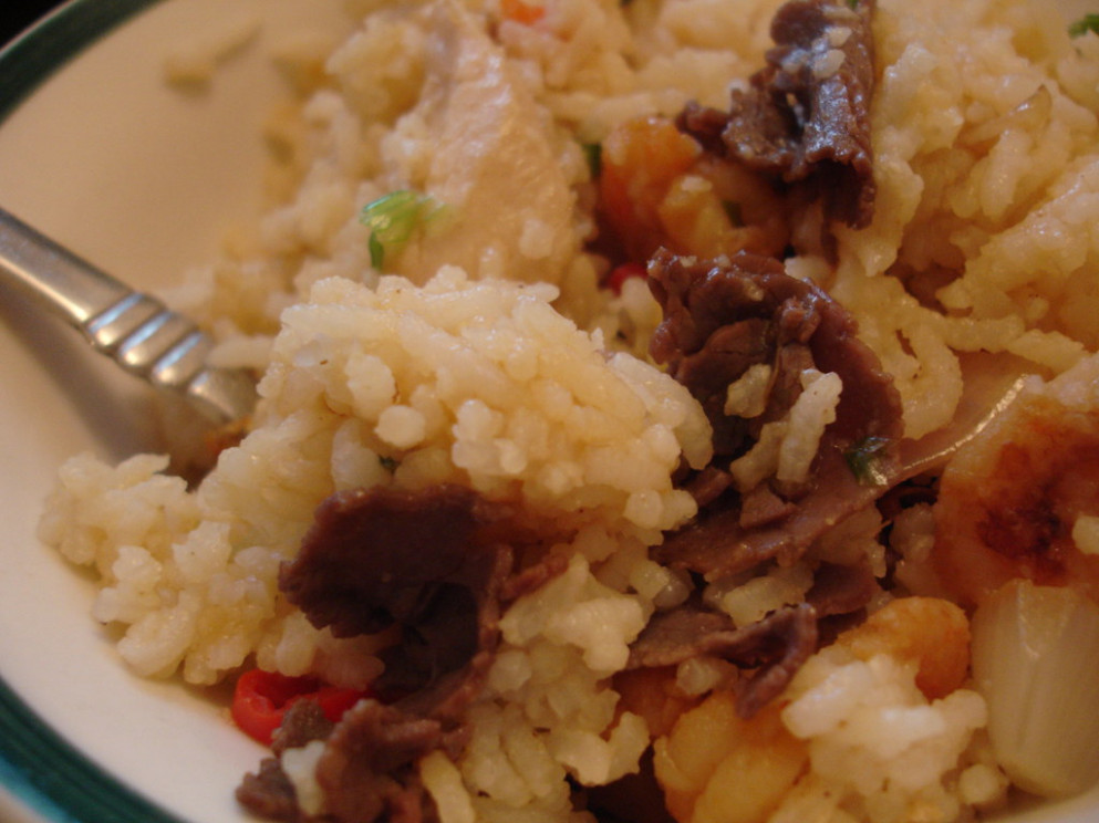 Fried rice - rice recipes chicken
