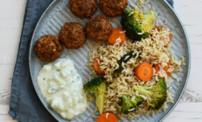 Fried Rice With Falafel: Vegan Dinner Recipe – Anne Travel ..