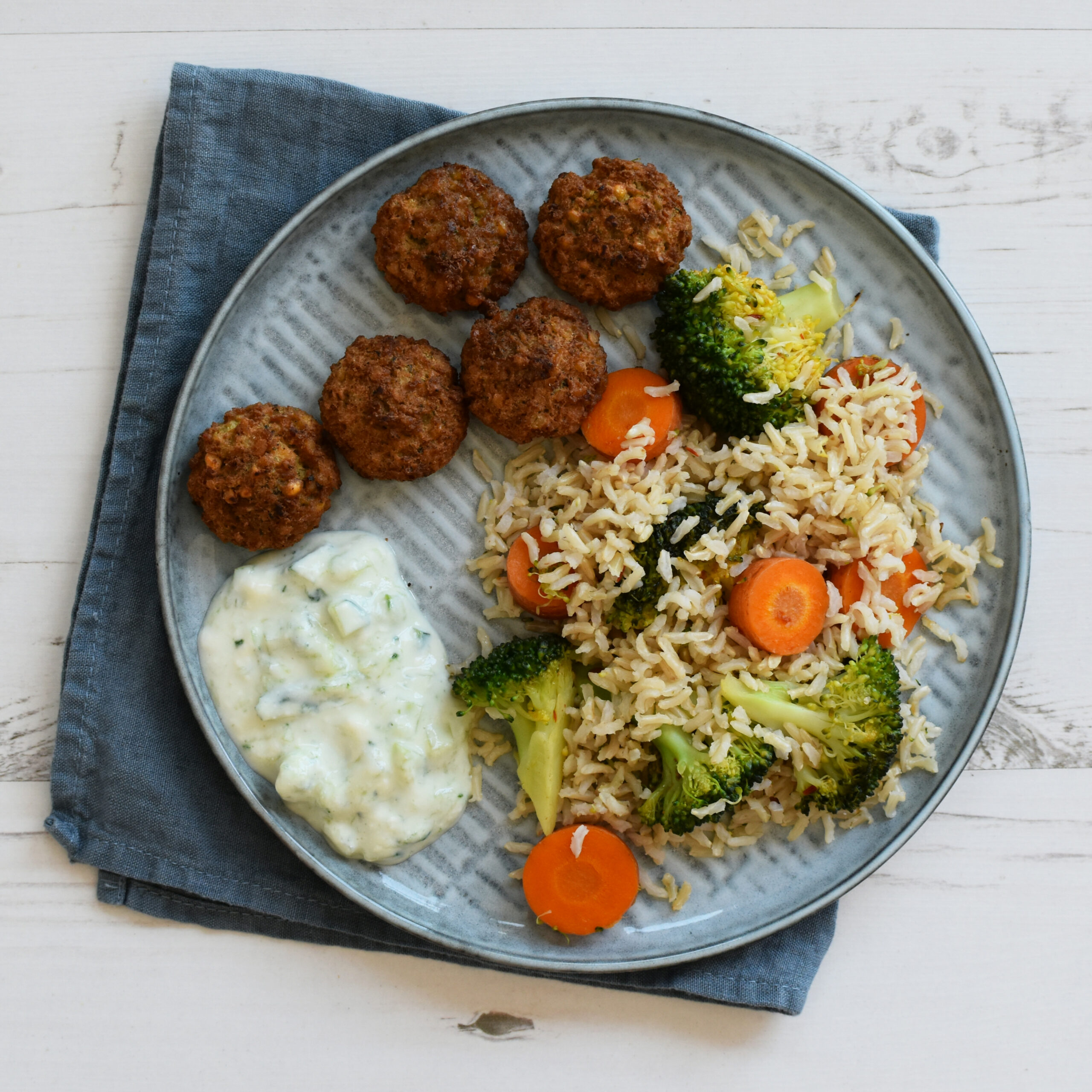 Fried Rice with Falafel: vegan dinner recipe - Anne Travel ..