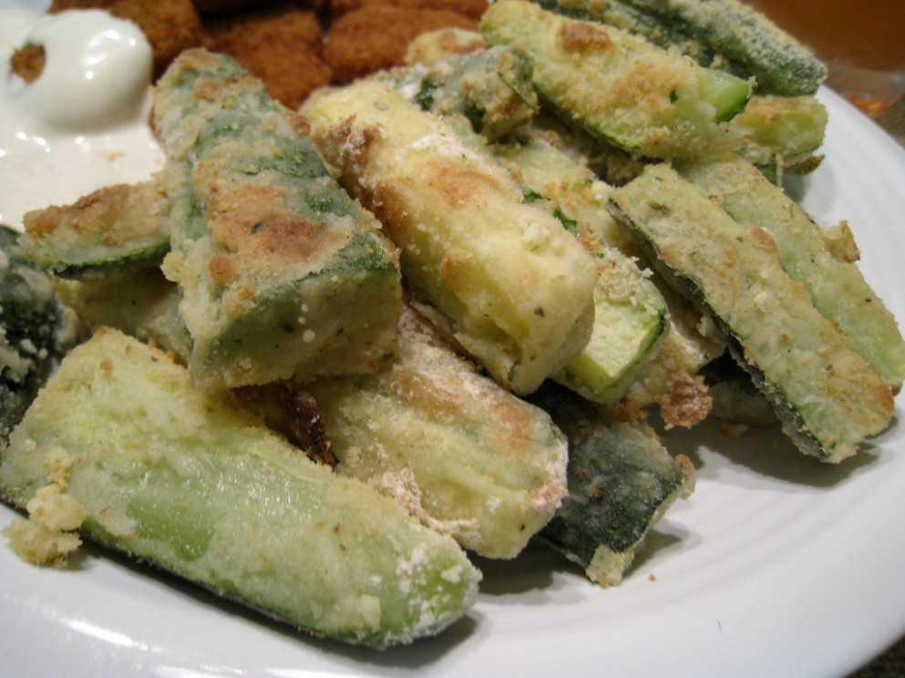 Fried zucchini - baked zucchini recipes healthy