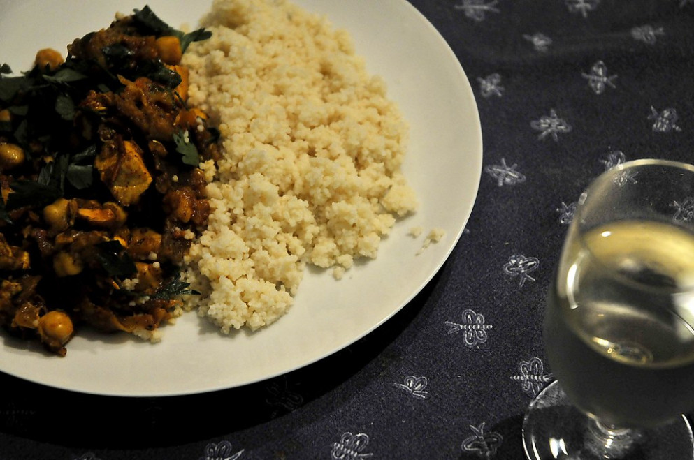 From My Kitchen    Couscous Imperial Recipe - Tagine Recipes Chicken