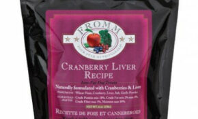 Fromm Family Foods Four Star Cranberry Liver Dog Treats – Low Fat Dog Food Recipes