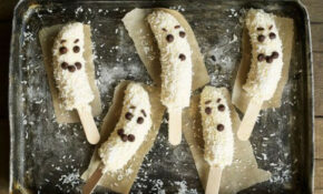 Frozen Banana Ghosts Recipe | BBC Good Food – Low Fat Recipes Chicken