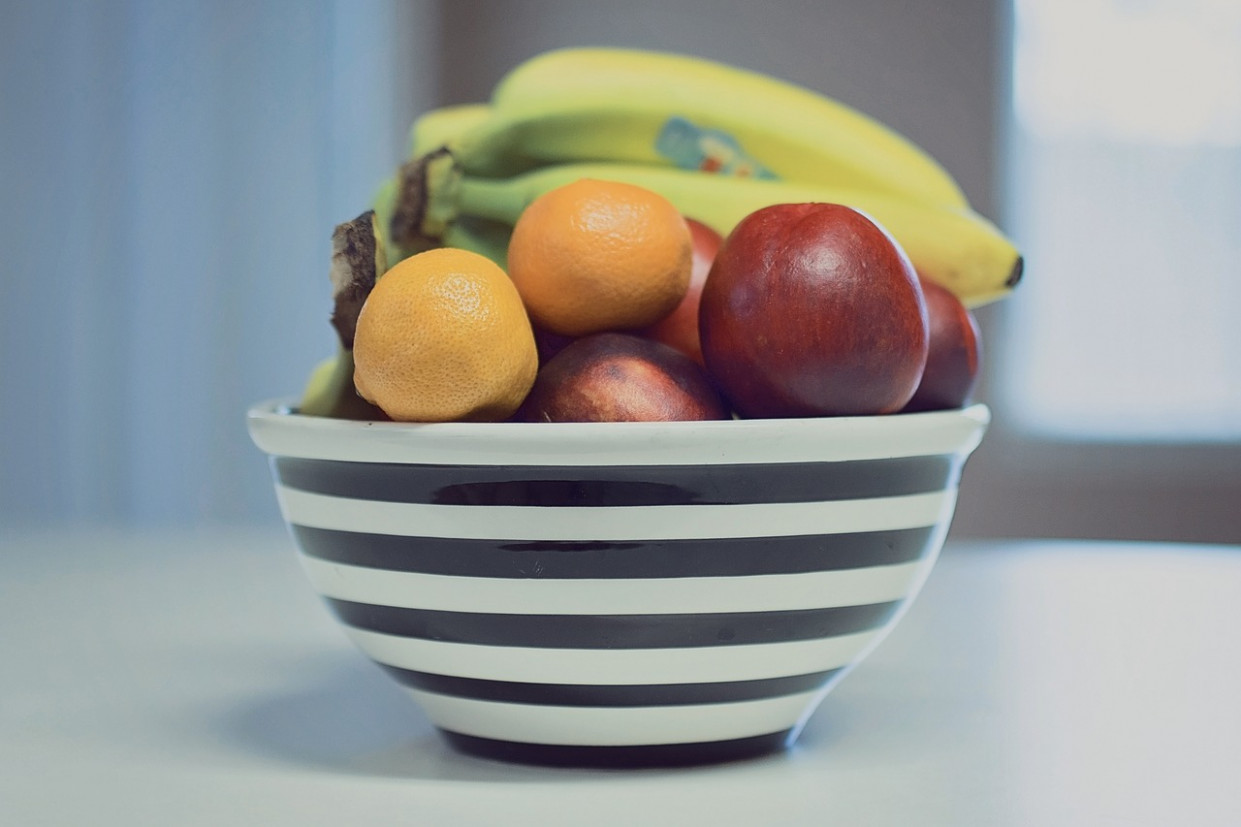 Fruit, Bowl, Stripes, Food, Healthy - Dinner Recipes Diet