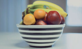 Fruit, Bowl, Stripes, Food, Healthy