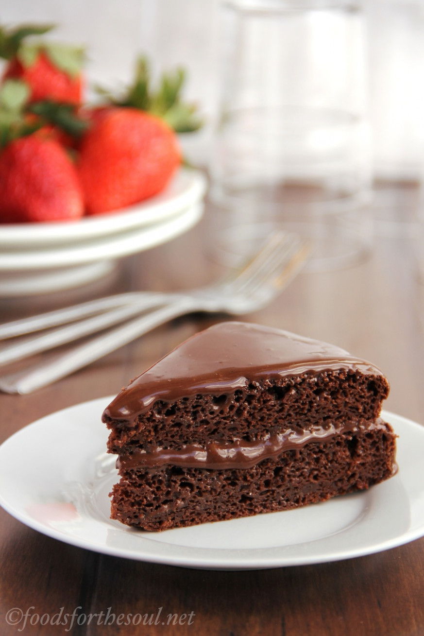 Fudgy Chocolate Cake With Fudgy Chocolate Frosting - Healthy Recipes Cakes