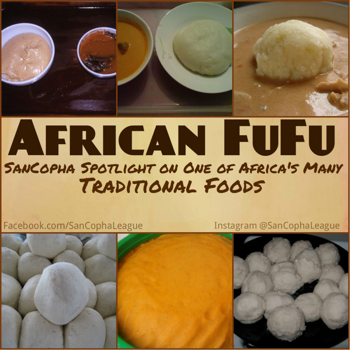 Fufu - recipes ghana food
