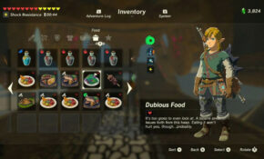 Full 'Legend Of Zelda: Breath Of The Wild' Recipe Book With ..