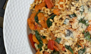 Fusilli Pasta With Roasted Vegetables And Yellow Tomato Sauce – Fusilli Pasta Recipes Vegetarian