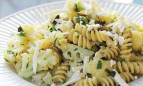 Fusilli With Broccoflower, Olives, And Herbs From 'The New Vegetarian  Cooking For Everyone' Recipe – New Recipes Vegetarian