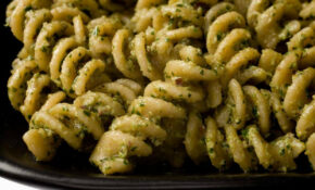 Fusilli With Parsley, Walnut, And Black Olive Pesto – Fusilli Pasta Recipes Vegetarian