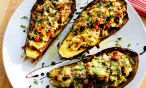 Gallery Vegetarian Stuffed Eggplant Recipes – Recipe Vegetarian Eggplant