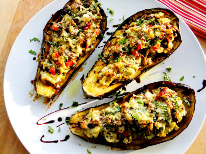 Gallery Vegetarian Stuffed Eggplant Recipes - Recipe Vegetarian Eggplant