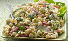 Garden Ranch Pasta Salad Recipe – Food Recipes Bacon