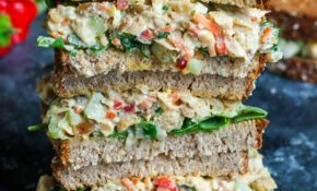 Garden Veggie Chickpea Salad Sandwich – Healthy And Vegetarian Recipes
