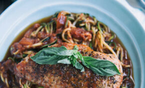 Garlic Basil Chicken With Zoodles Recipe – Chicken Recipe Zoodle
