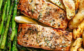 Garlic Butter Baked Salmon – Dinner Recipes Delicious