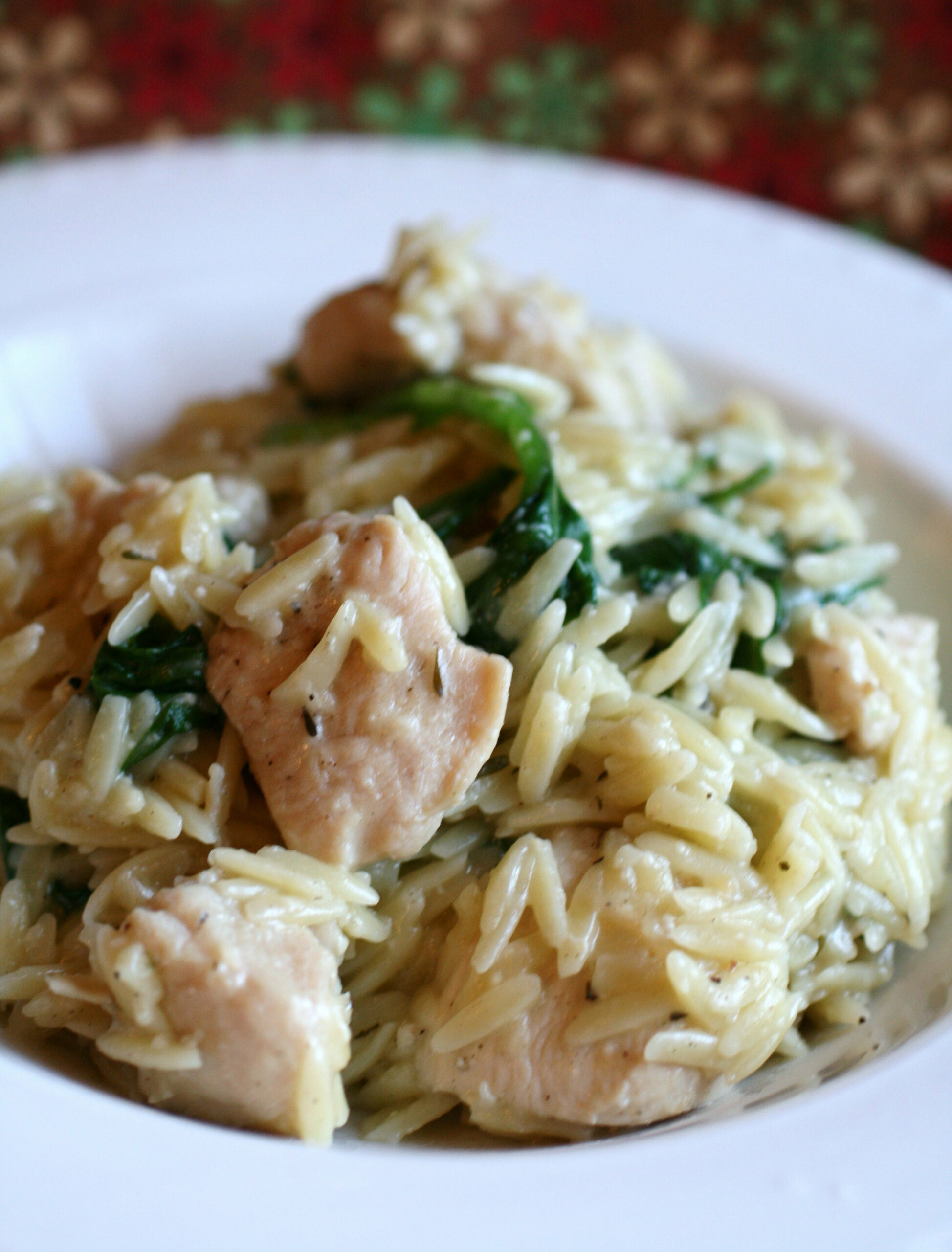 Garlic Chicken with Orzo Noodles - recipes garlic chicken