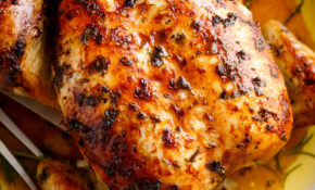 Garlic Herb Butter Roast Chicken – Recipes With Rotisserie Chicken