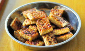 Garlic Marinated Tempeh (Tempe 'Goreng') (vegan) – Recipes Indonesian Food