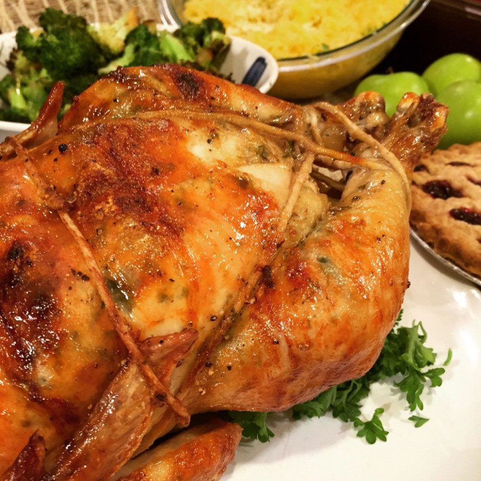 Garlic Parmesan Homemade Rotisserie Chicken | Ronco ..