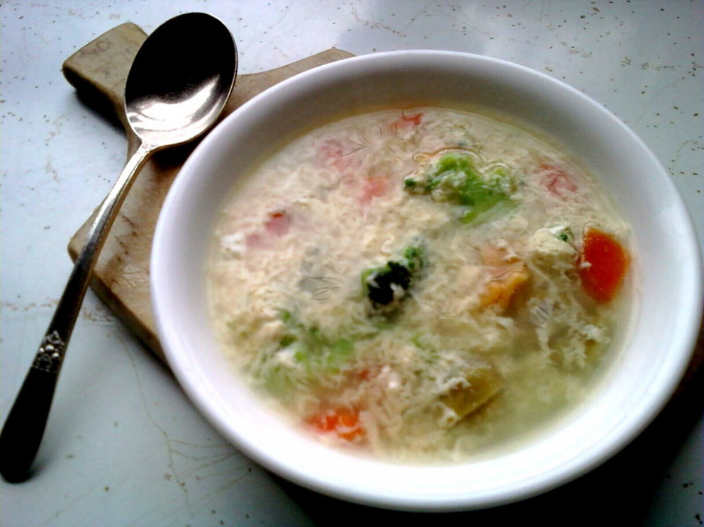 Garlic Soup - recipes of healthy meals