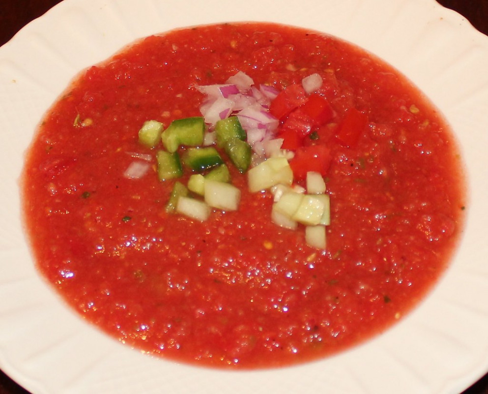 Gazpacho - recipes for healthy soup