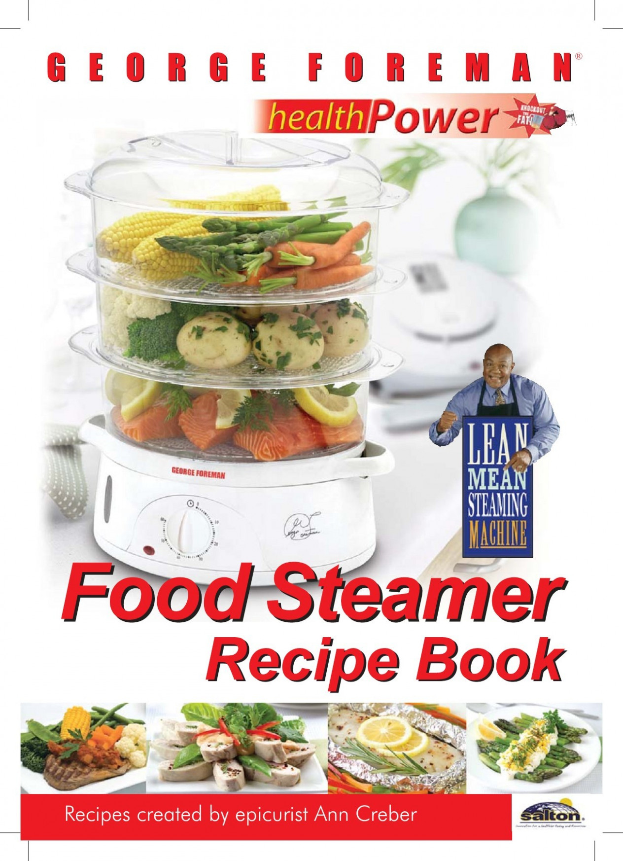 George Foreman healthy eating Steaming Recipes Pages 13 - 1313 ..