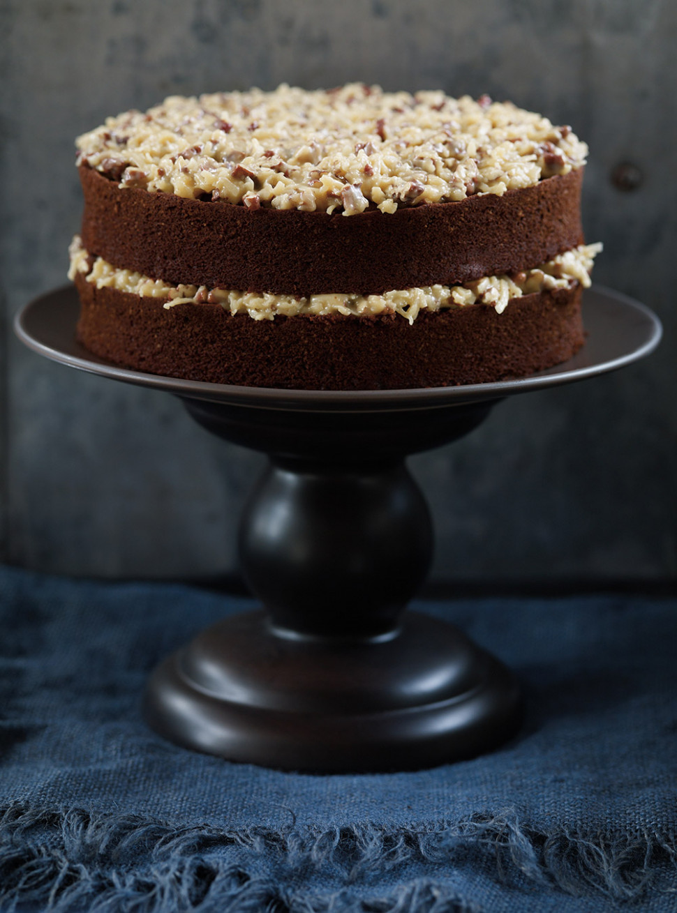 German Chocolate Cake | Ricardo - healthy recipes shrimp