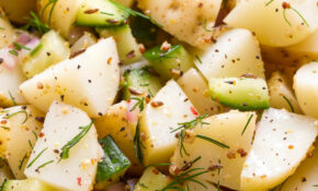 GERMAN POTATO SALAD WITH DILL – THE SIMPLE VEGANISTA – Recipe Vegetarian German Potato Salad