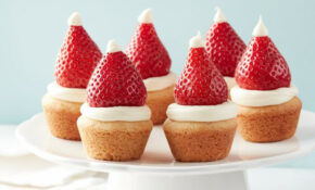 Get Noticed This Christmas With These Delicious Santa Hat ..