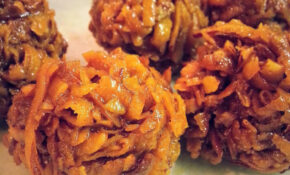 Ghanaian Caramel Coconut Balls – Food Recipes Ghana