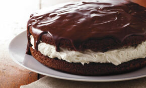 Giant Ganache Topped Whoopie Pie Recipe – Clean Food Recipes