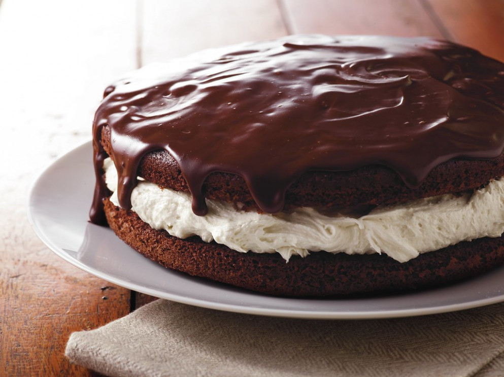 Giant Ganache-Topped Whoopie Pie Recipe - clean food recipes