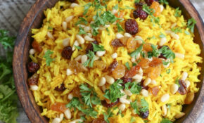 Ginger And Turmeric Aromatic Rice – Fresh Turmeric Recipes Vegetarian