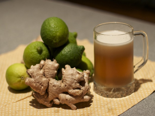 Ginger Beer Recipe | Serious Eats - food recipes using ginger beer