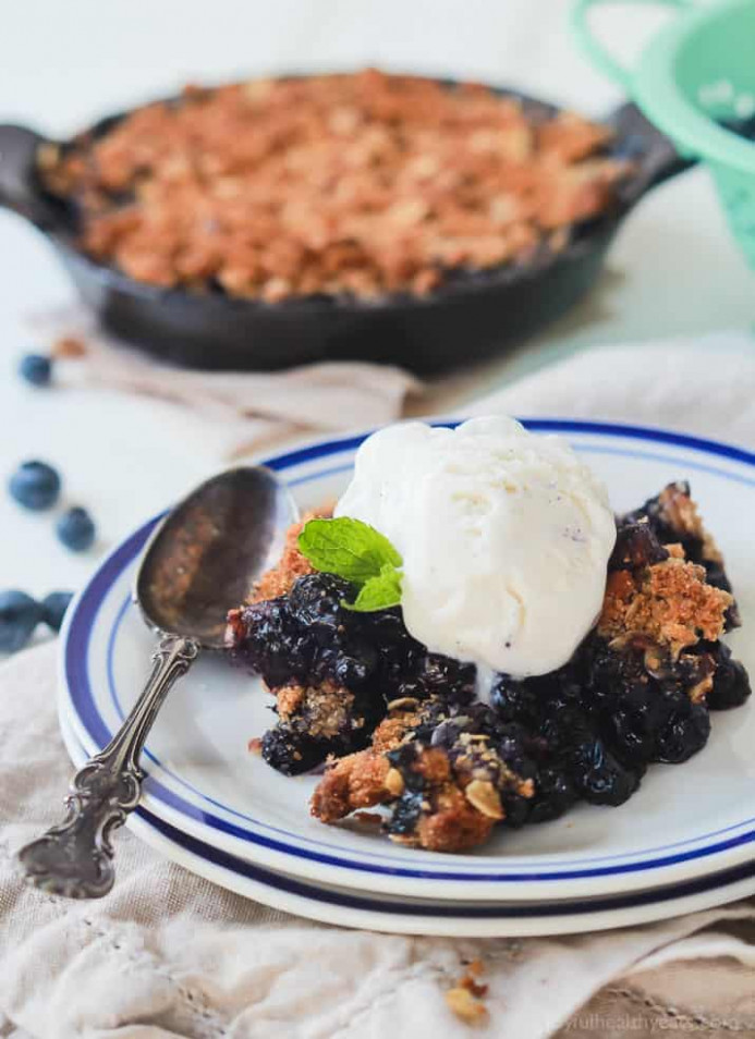 Ginger Blueberry Crisp Recipe | Easy Healthy Recipes Using ..