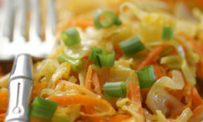 Ginger Fried Cabbage And Carrots (AIP, Paleo, Vegan) – Recipes Paleo Vegetarian