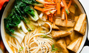 Ginger Miso Udon Noodles With Five Spice Tofu (Vegan ..