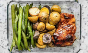Glazed Chicken Meal Prep – Meat And Potatoes Reinvented ..