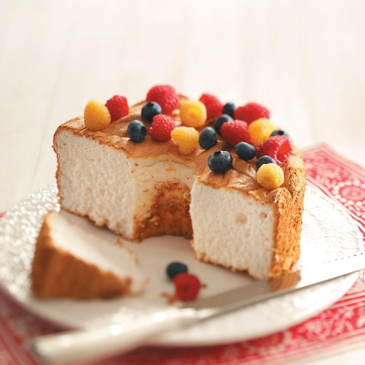 Gluten-Free Angel Food Cake Recipe | Taste of Home - food recipes api free