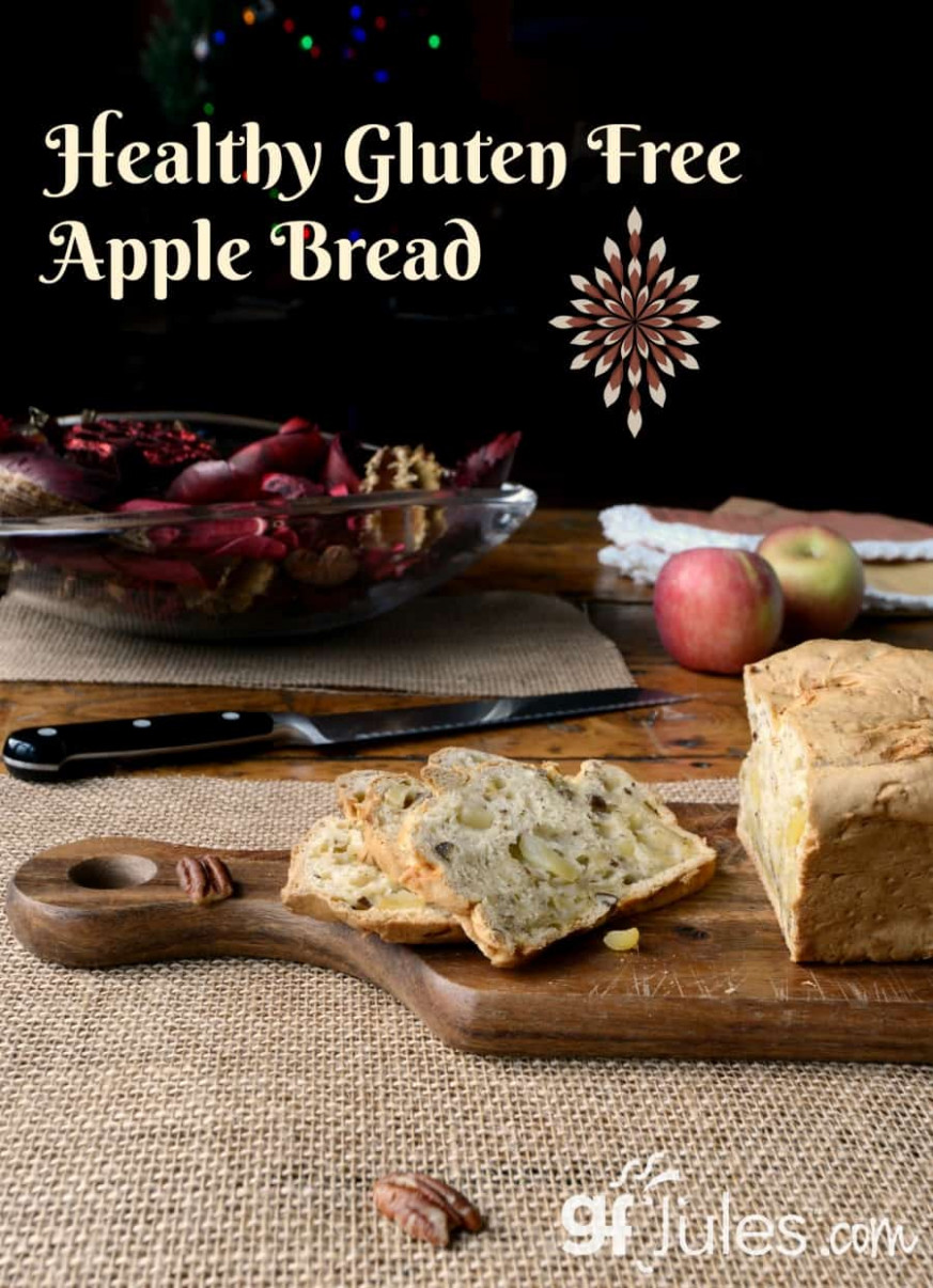 Gluten Free Apple Bread Recipe made with #1-rated gfJules ..