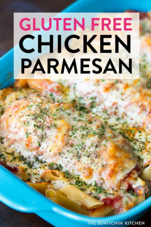 Gluten Free Chicken Parmesan | The Bewitchin' Kitchen - dinner recipes that are gluten free