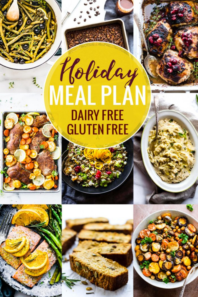 Gluten Free Dairy Free Holiday Meal Plan | Cotter Crunch - Dairy Free Recipes Dinner