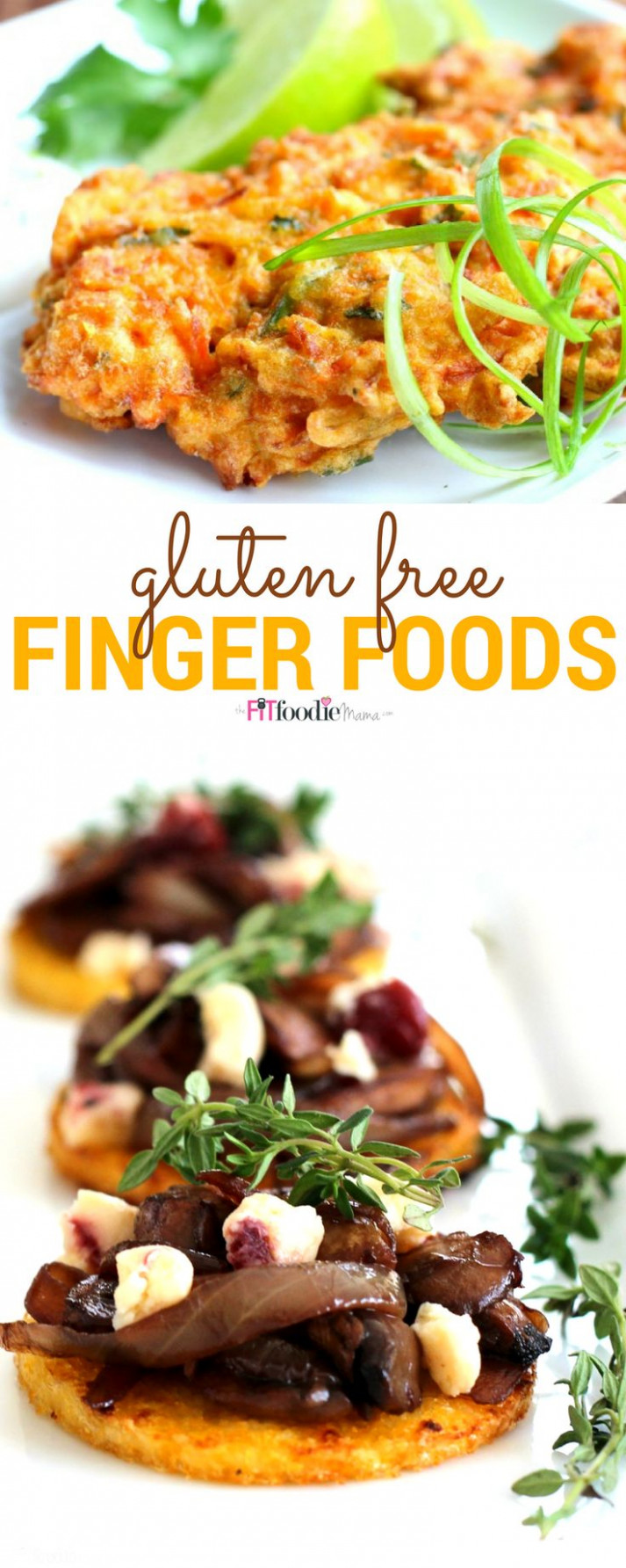Gluten Free Finger Foods for the Holidays | Meatless ..