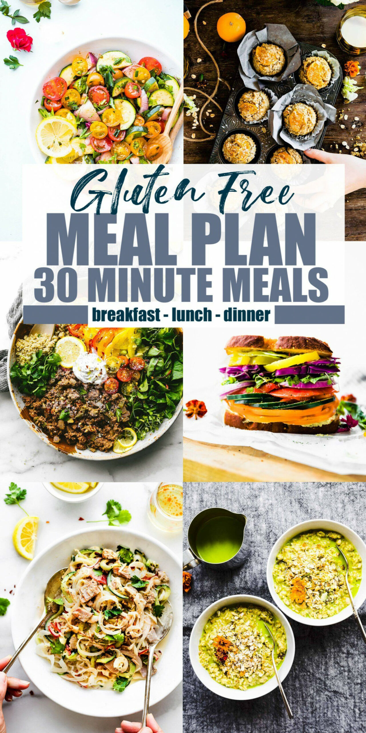 Gluten Free Meal Plan with 14 Minute Meals (or Less ..