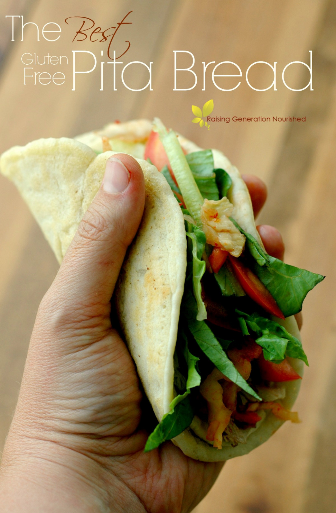 Gluten Free Pita Bread - food recipes using xanthan gum