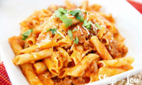 Gluten Free Pressure Cooker Pasta With Meat Sauce | Skip ..