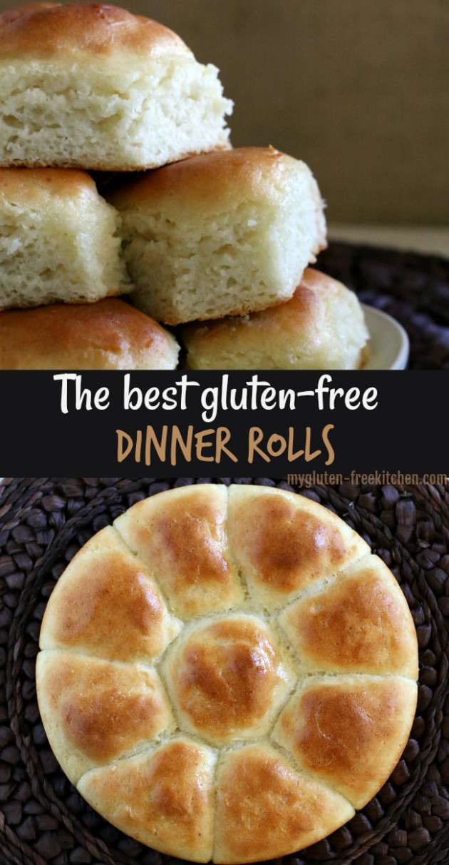 Gluten Free Pull Apart Dinner Rolls - Best Gluten Free Recipes Dinner